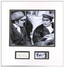 Peter Cook and Dudley Moore Autograph Signed Display